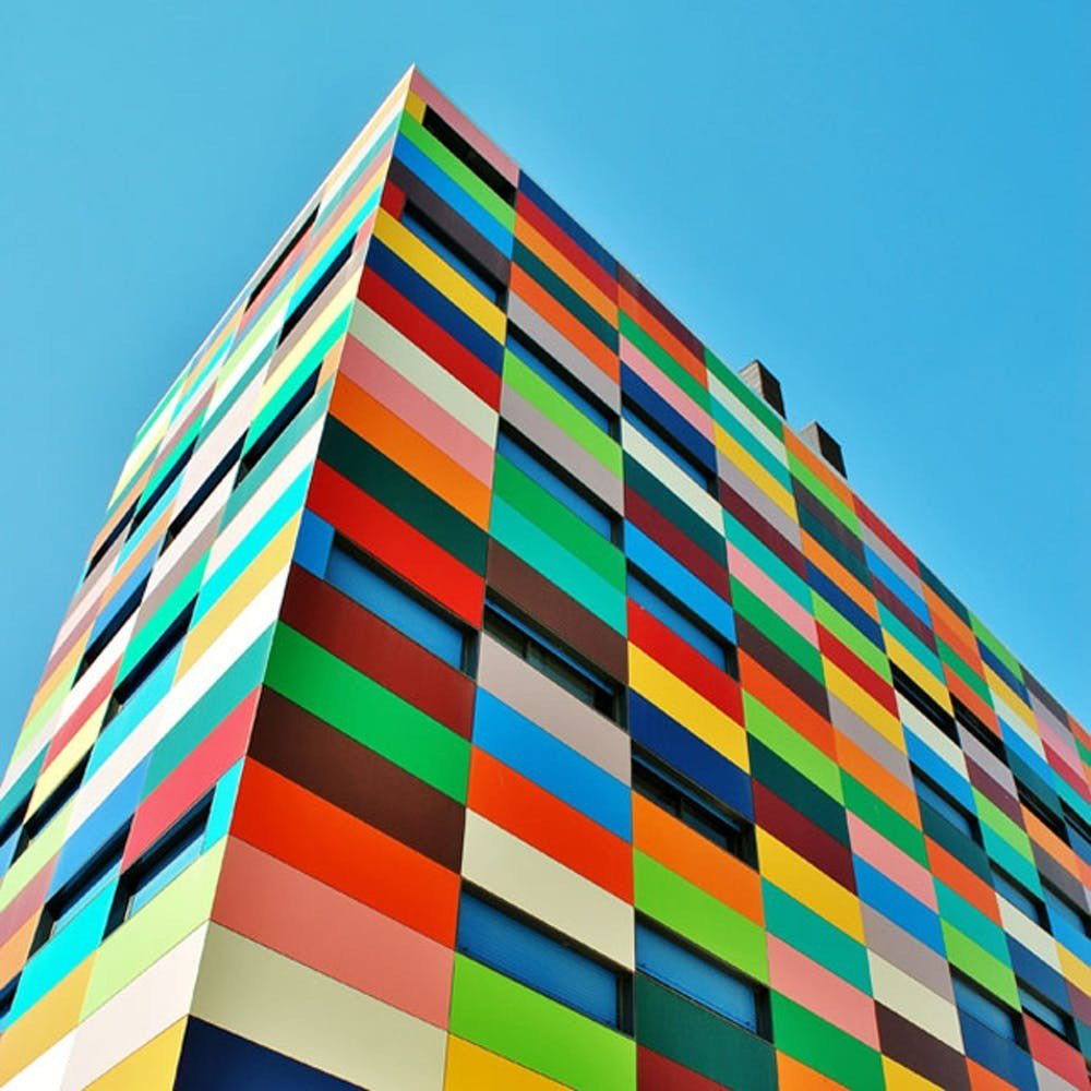Colorful Buildings: The Most Eyecatching Colorful Building From Different