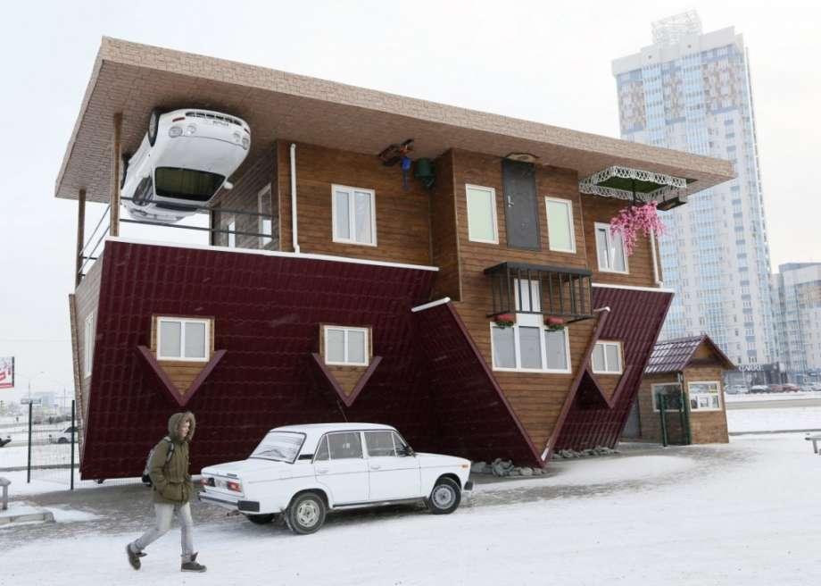 strange house architecture