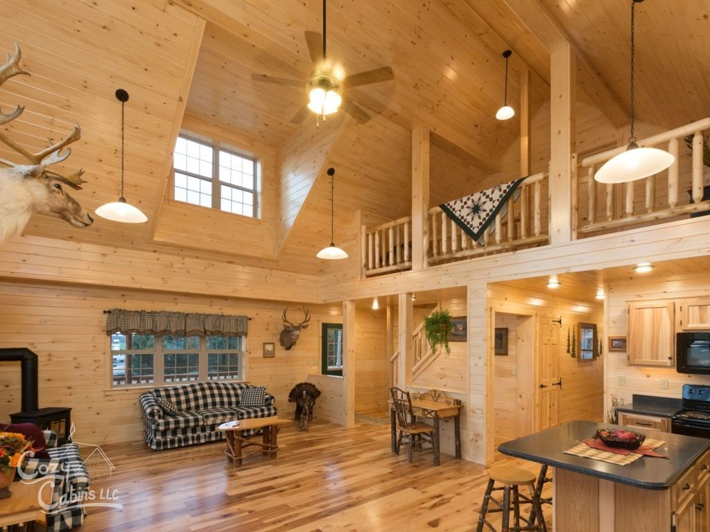 Mesmerizing Log House Interiors That Will Impress You World Inside Pictures