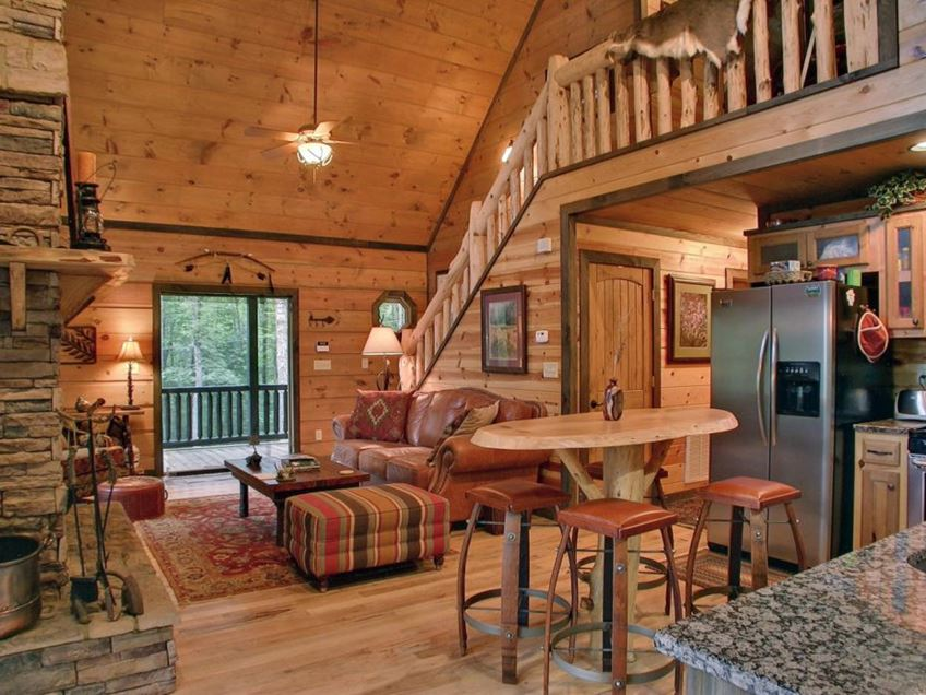 Mesmerizing Log House Interiors That Will Impress You