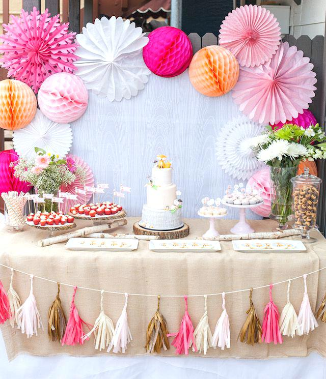 baby shower ideas girl
