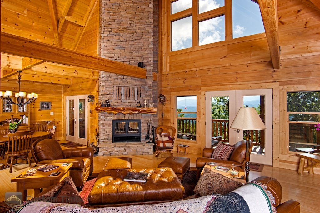 Mesmerizing Log House Interiors That Will Impress You | World Inside  Pictures