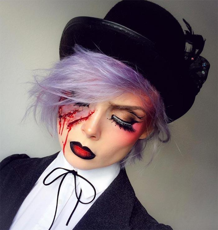 halloween cute makeup