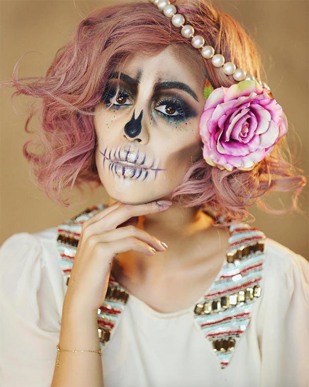 women Halloween makeup ideas