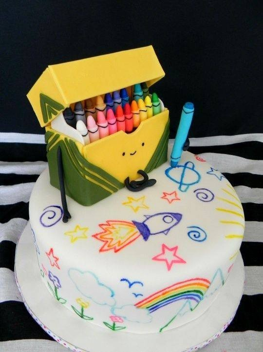 Interesting Birthday Cakes For Kids That You Have To See ...