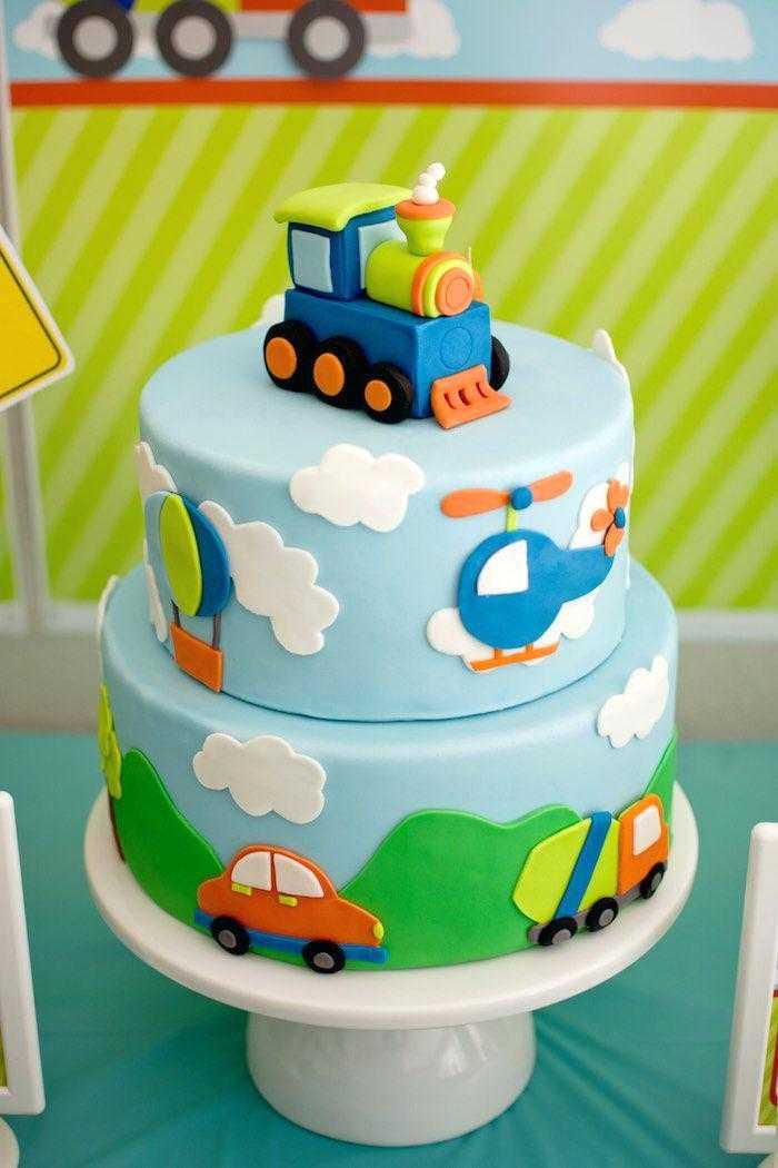 Easy Peasy Kids Birthday Cake