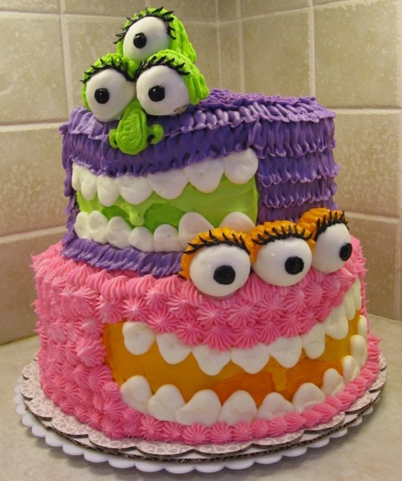 Interesting Birthday Cakes For Kids That You Have To See World