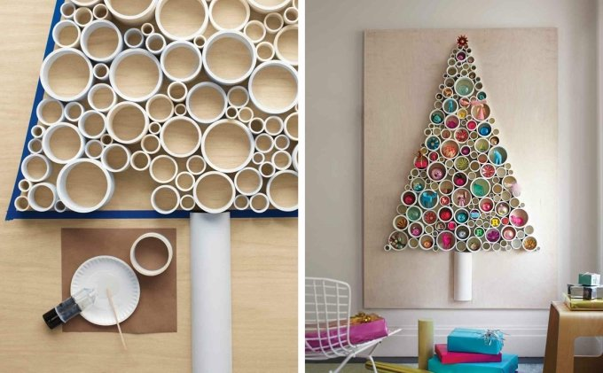 Alternative Christmas Tree Ideas That Will Have All Eyes