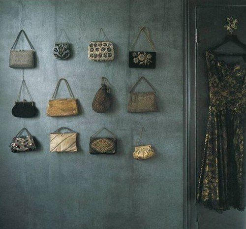 wall bags storage