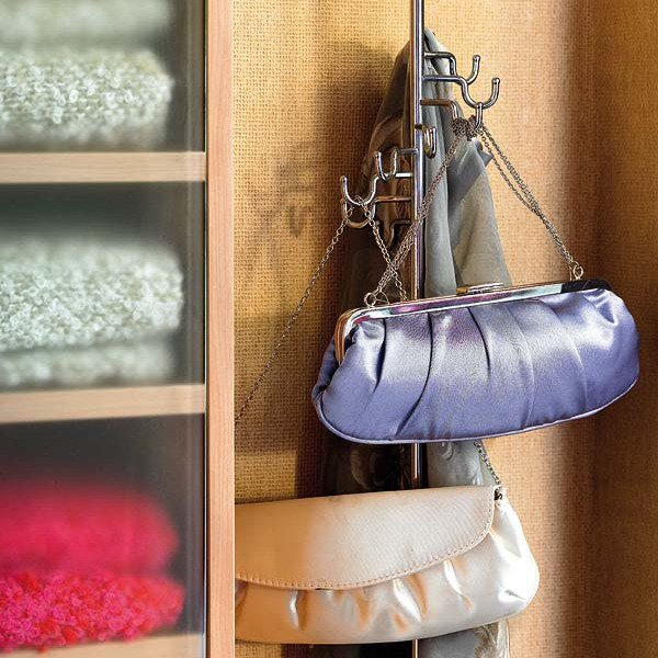 diy purse rack