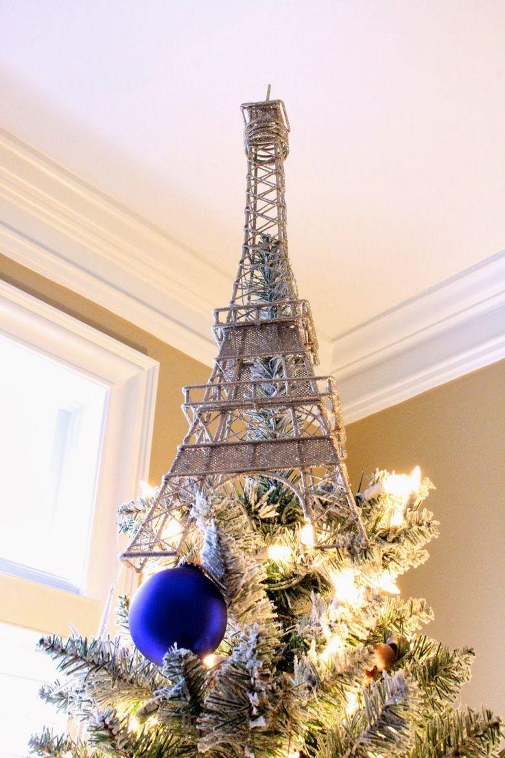 Eiffel Tower Tree Topper