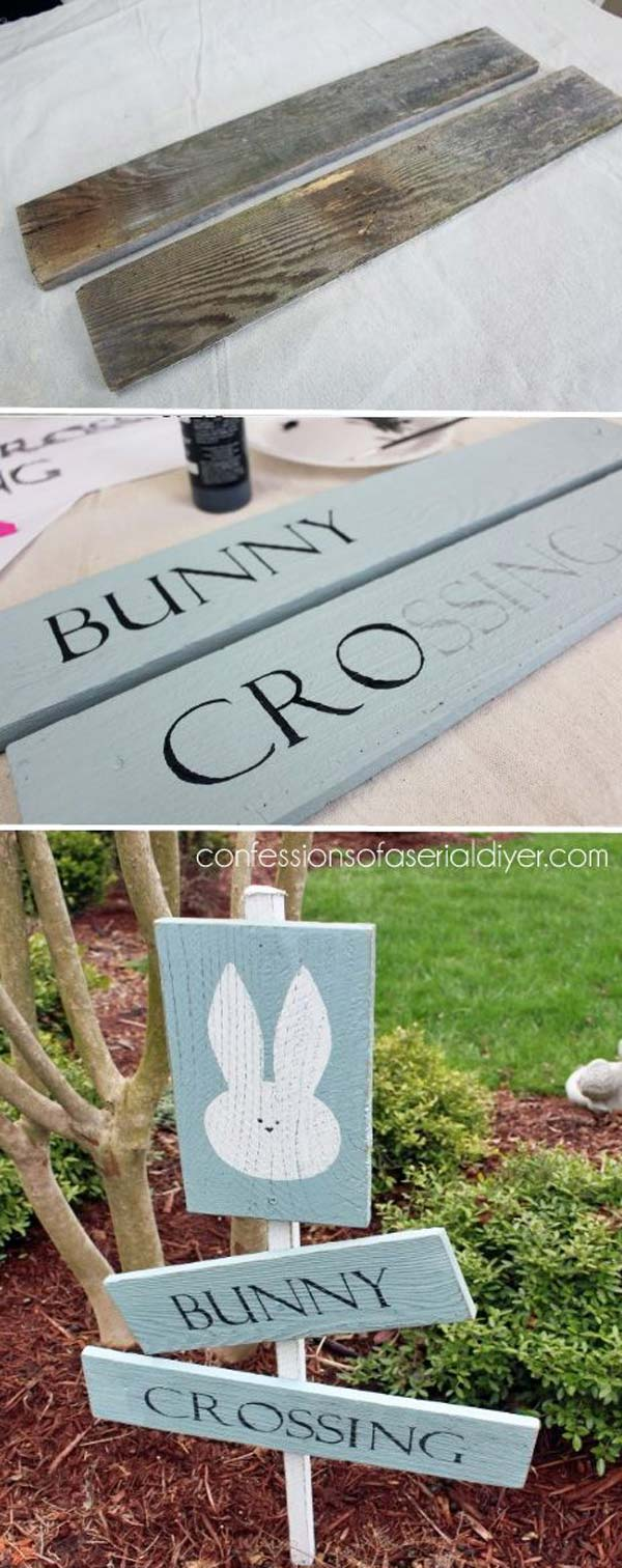 outdoor lawn easter decorations