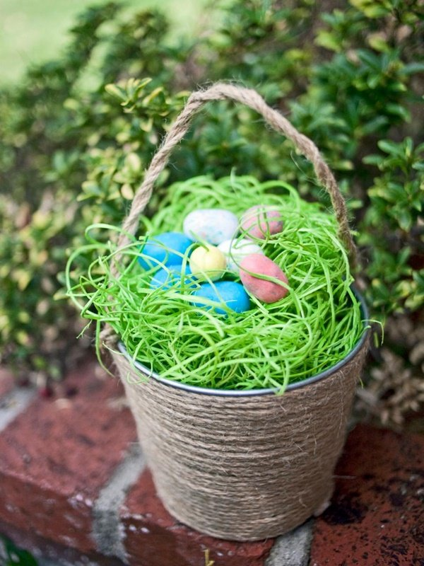 how to make outdoor easter decorations