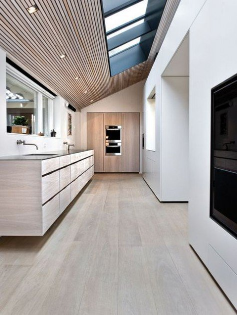 attic kitchen designs