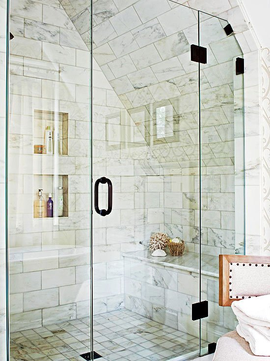 shower bench design pictures