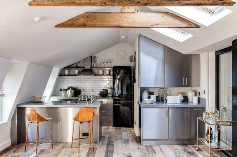 attic kitchens