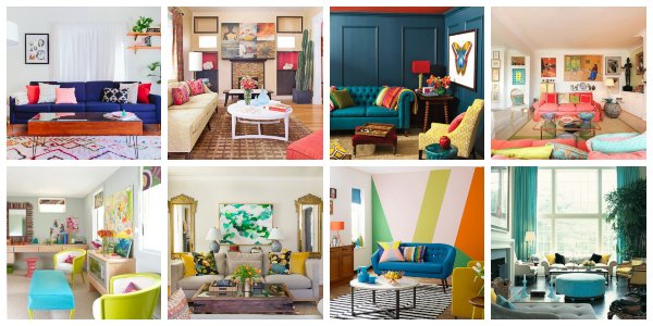 Modern Colorful Living Rooms That Will Add Colors Into Your ...