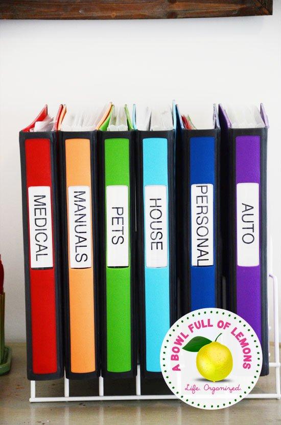 file organization tips