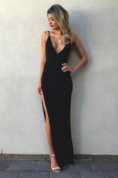 minimalist prom dress