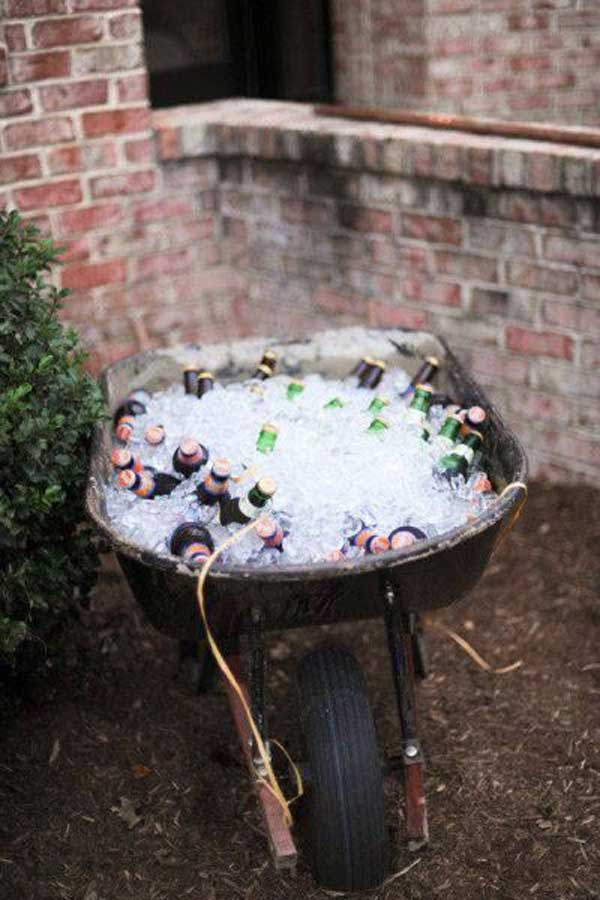 how to make a homemade ice cooler