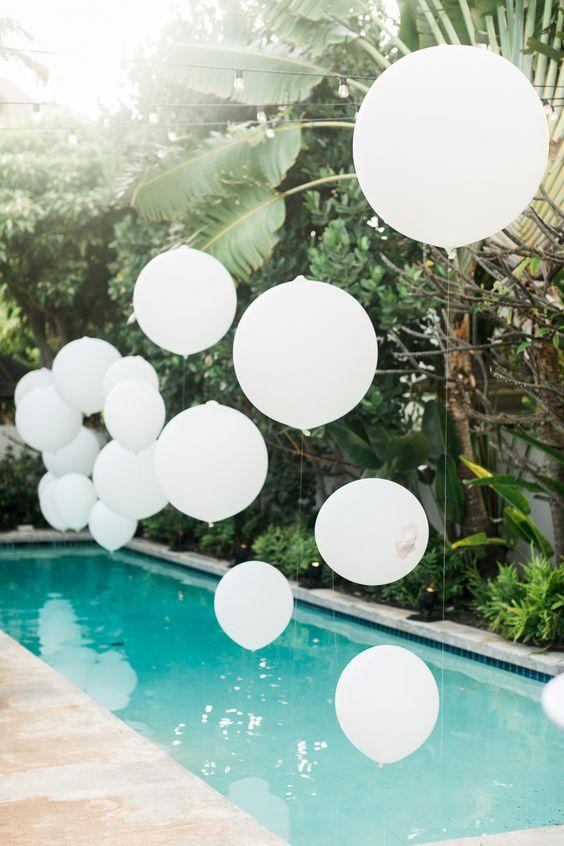 backyard poolside wedding ideas
