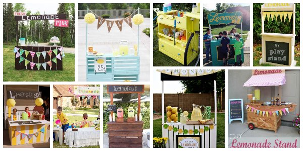 Fantastic DIY Lemonade Stand Ideas That Will Kids Will Adore