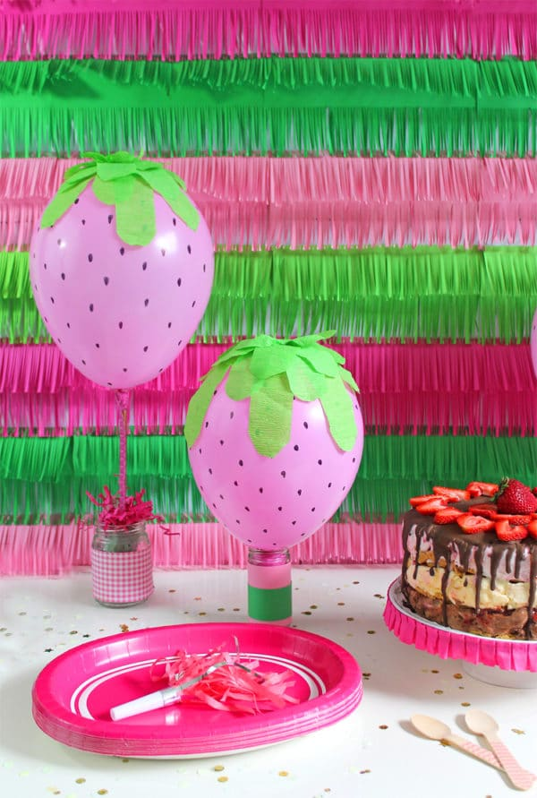 simple balloon decoration at home for birthday