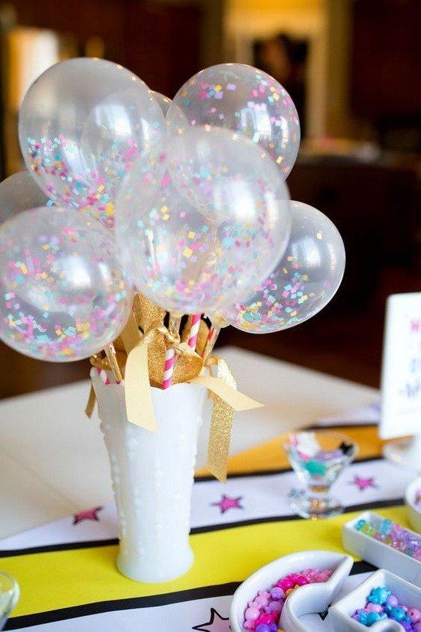 DIY balloons decor
