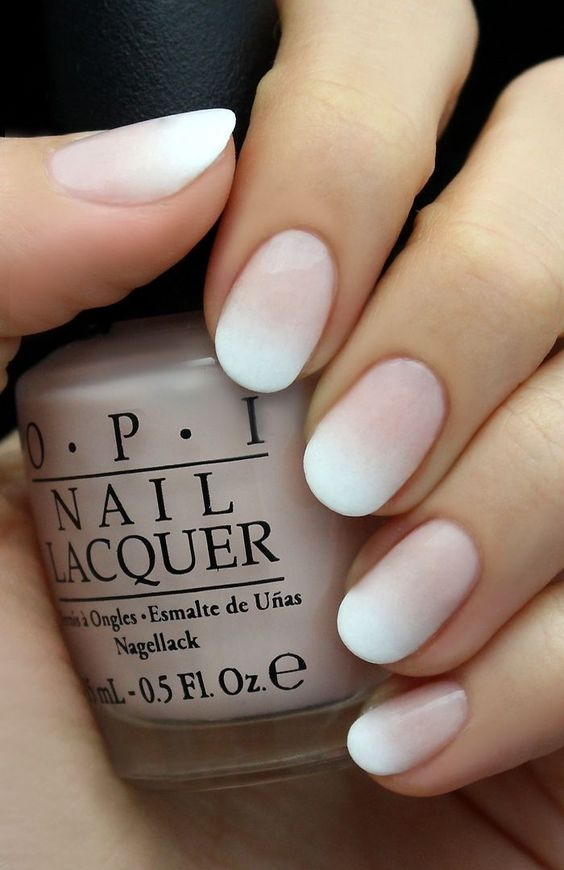 best french manicure colors
