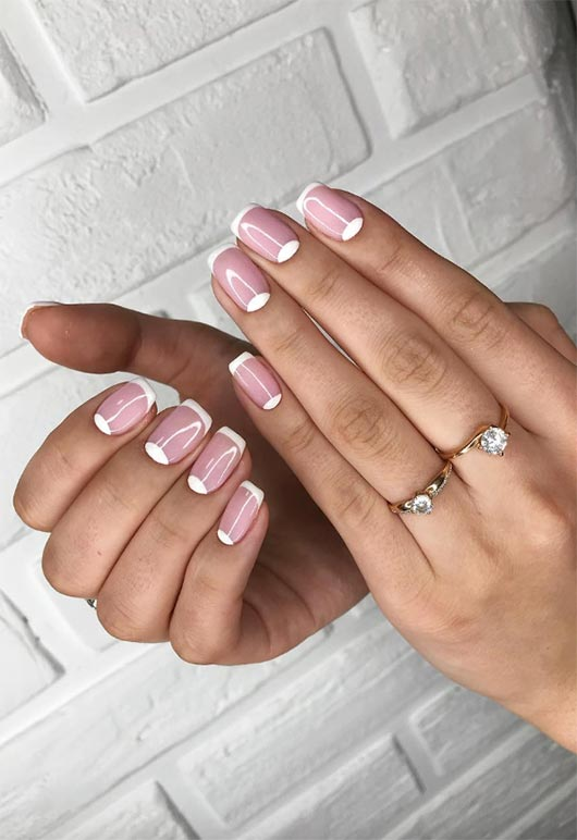 perfect french manicure diy