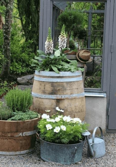 Rustic Garden Decor Ideas Easy Craft
