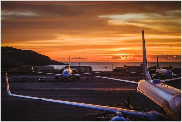 Several Aircraft Seen at an Airport