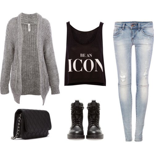 latest fall outfit polyvore