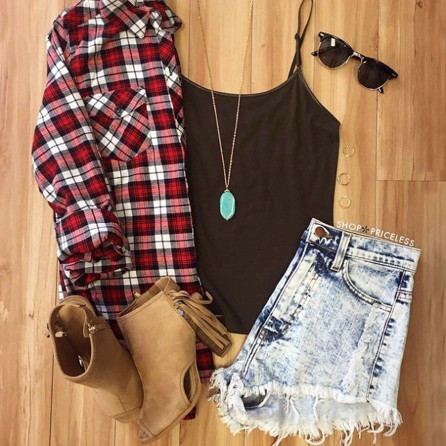 summer polyvore outfit