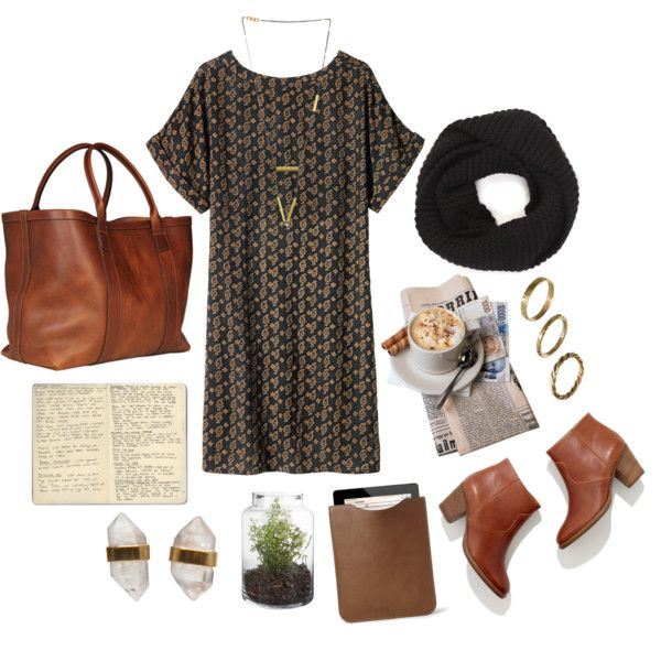 polyvore casual outfit