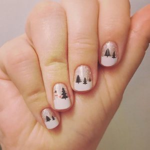 christmas inspired nails art designs that you must try