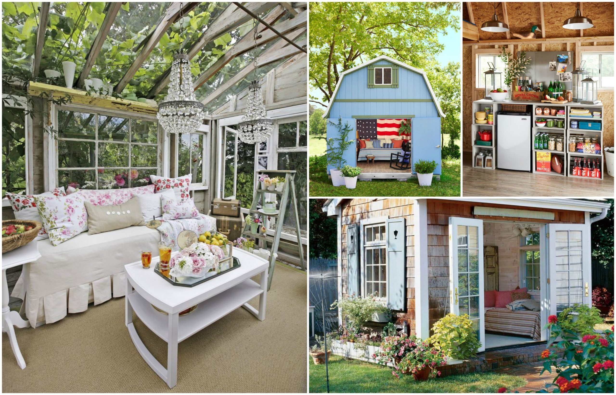 Some Helpful Steps To Create Your Own She Shed In The ...
