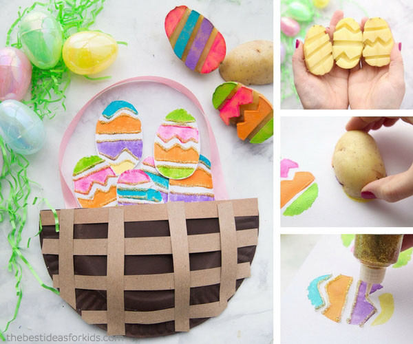 easter crafts for toddlers to make