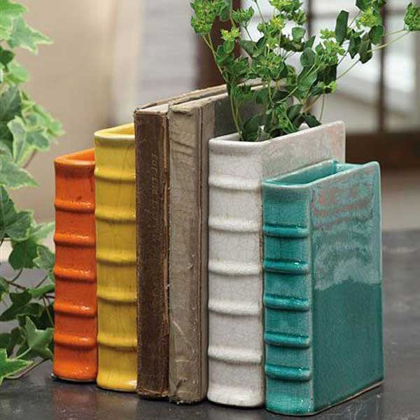 Books Inspired DIY Home Decor