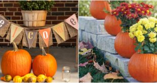 fall decor outdoor ideas