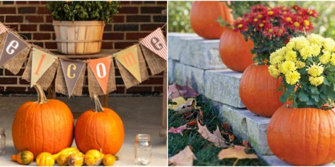 fall decor outdoor ideas