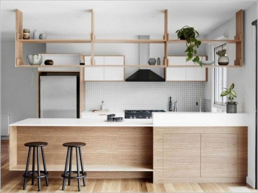 small kitchen extra storing space