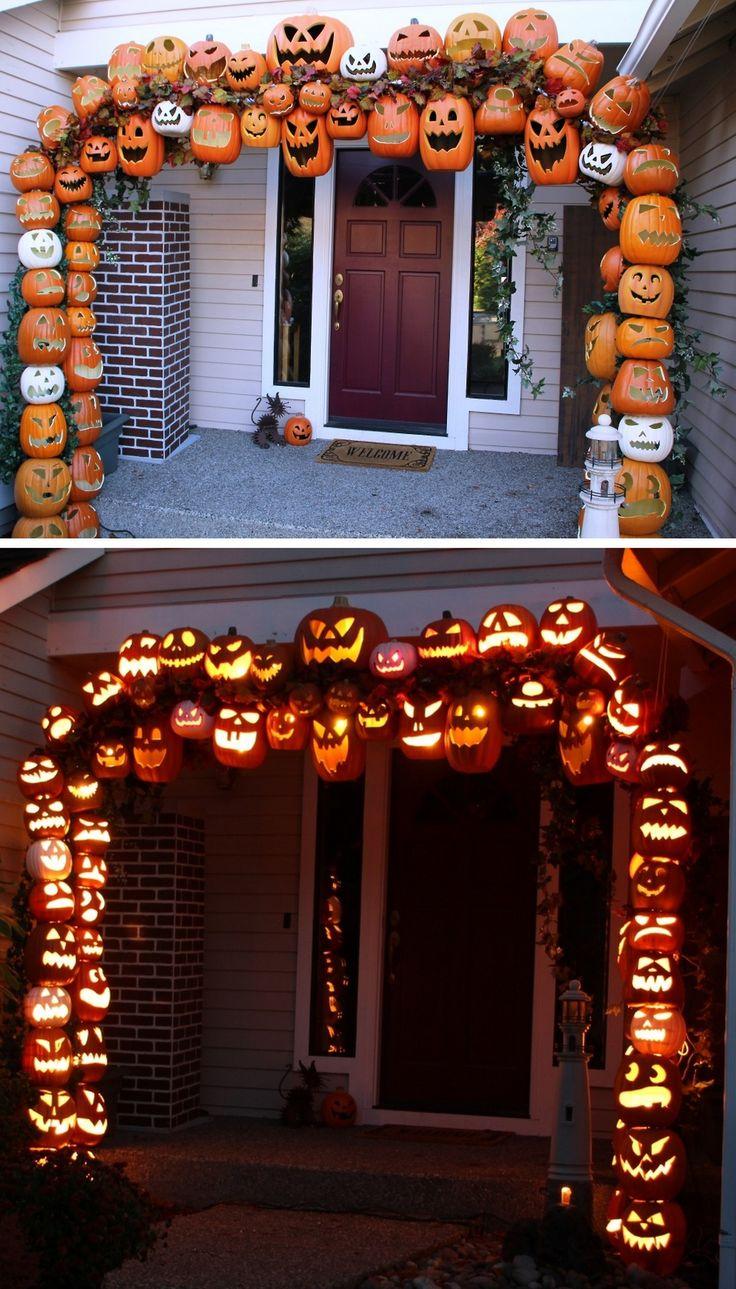 pumpkin outdoor decor