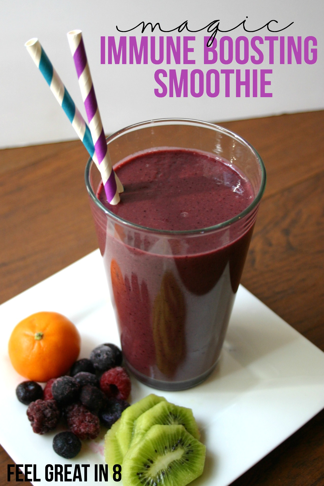 magic immune boosting smoothie