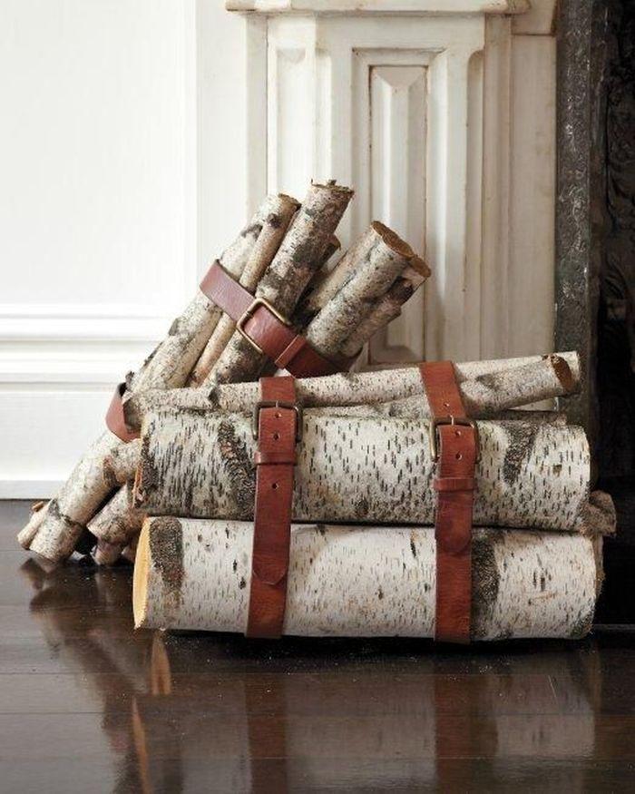 interesting wood storage ideas