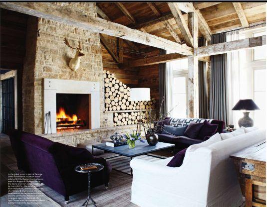 indoor wood storage