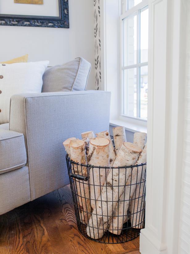 indoor log holder