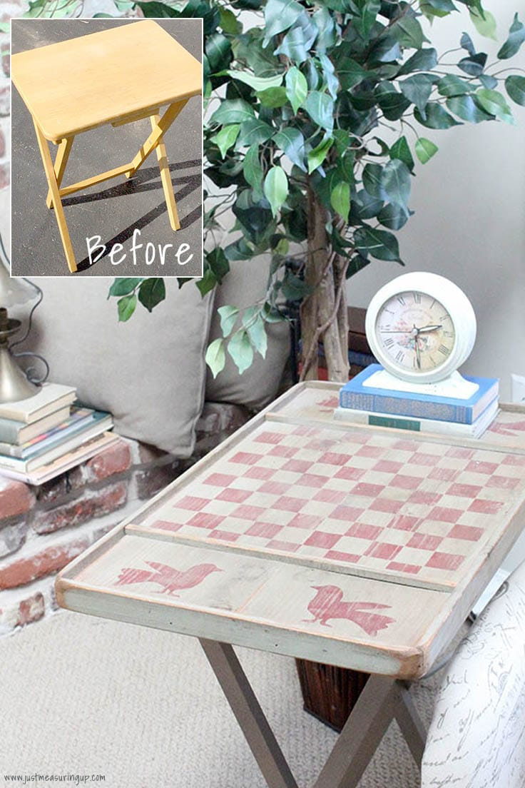 DIY upcycled table