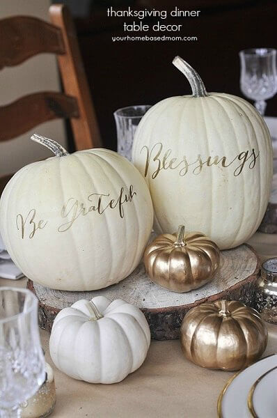 thanksgiving dinner table decor