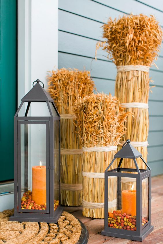 DIY thanksgiving outdoor decor